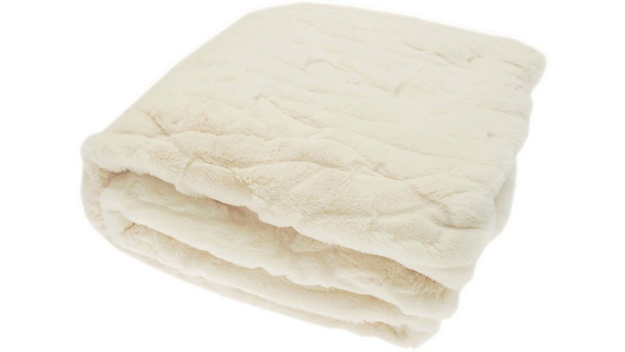 Darcey Throw - Cream