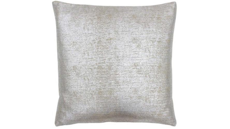 Arora Square Cushion - Silver