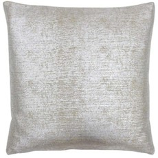Arora Square Cushion - Silver