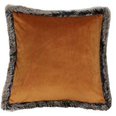 Kiruna Square Cushion - Rust