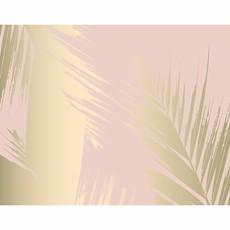 Blush & Gold Framed Print