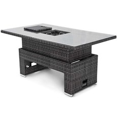 Eden Flatweave Rising Table with Ice Bucket