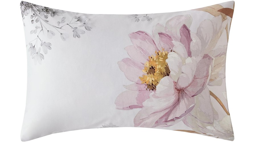 Ted Baker Butterscotch House Wife Pillow Case Pair - Grey