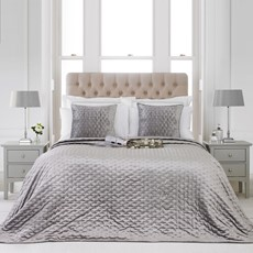 Moonlight Bedspread - Silver