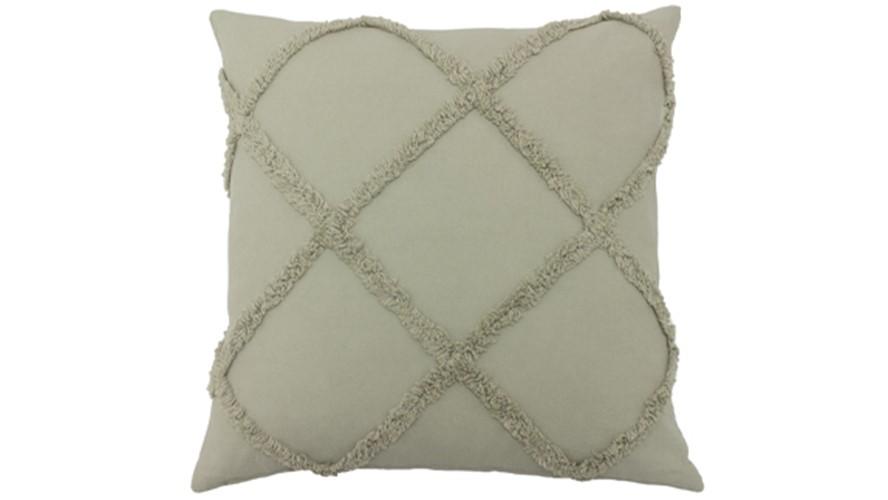 Tago Textured Cushion - Grey