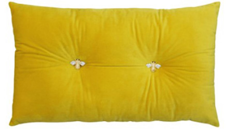 Bumble Cushion - Yellow