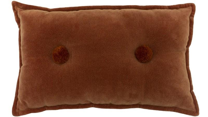 Bobble Cushion - Brick