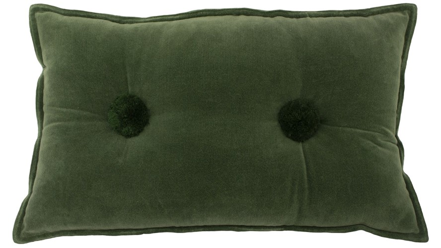 Bobble Cushion - Sage