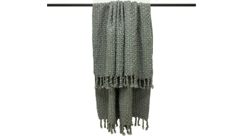 Jocelyn Chunky Throw - Grey
