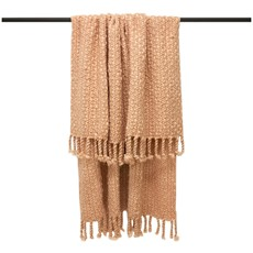 Jocelyn Chunky Throw - Blush