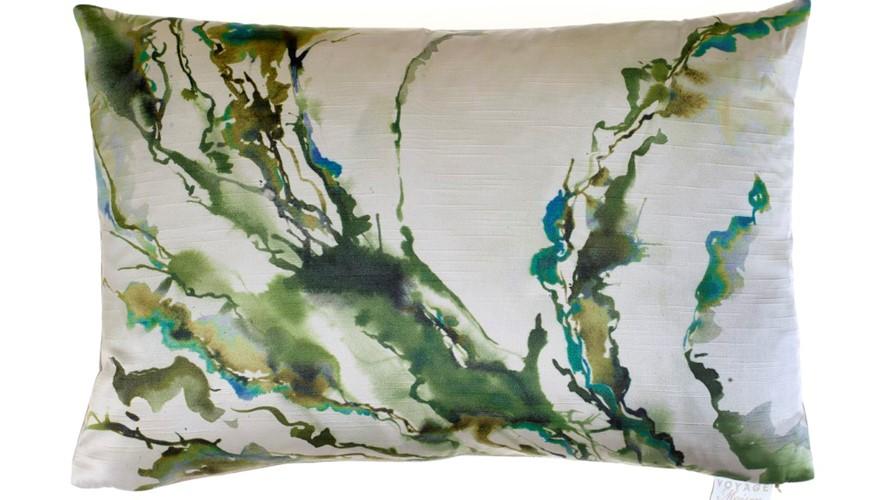 Abstraction Boudoir Ink Cushion