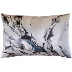 Abstraction Boudoir Ink Cushion - Smoke