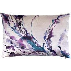 Abstraction Boudoir Ink Cushion - Lavender