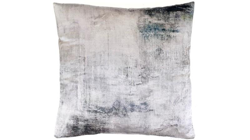 Monet Silver Square Cushion