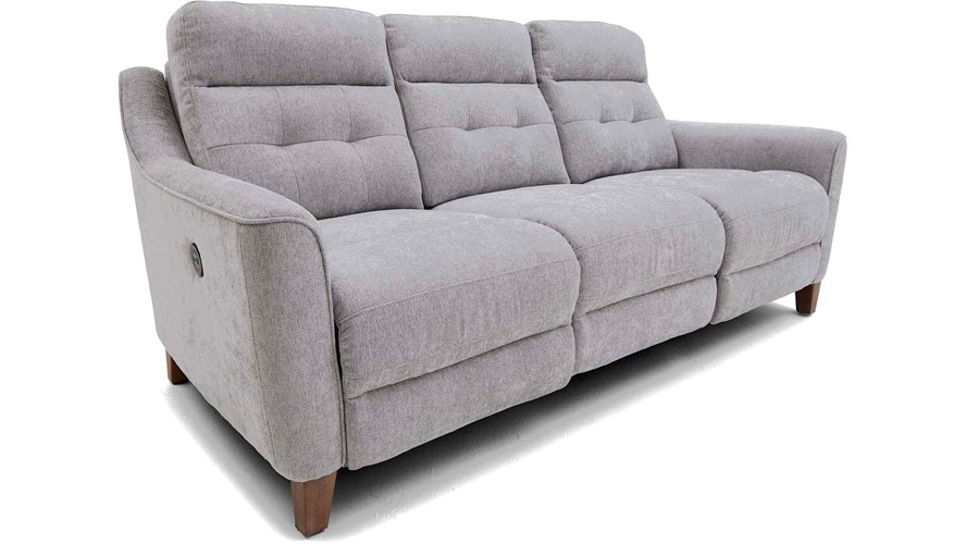 Ticino 3 Seater Power Recliner Sofa with USB