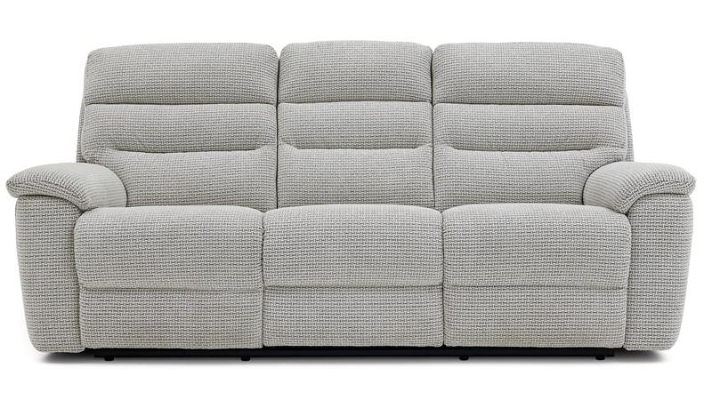 Delta 3 Seater Manual Recliner Sofa