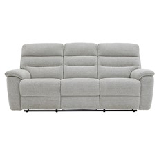 Delta 3 Seater Manual Recliner Sofa