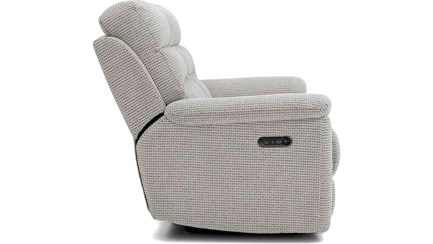 Delta 2 Seater Power Recliner Sofa with USB