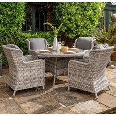 Country 4 Seater Dining Set