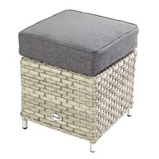 Heritage Stool with Integrated Ice Bucket and Cushion