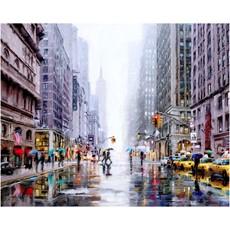 New York 5th Avenue Framed Print