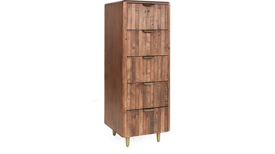 Bombay 5 Drawer Tall Chest