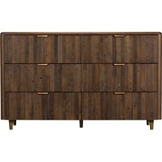 Bombay 6 Drawer Wide Chest