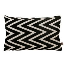 Bowie Rectangular Cushion Black