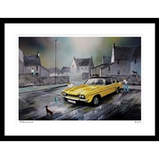 A Shining Example Framed Print