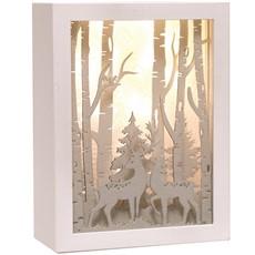 LED Reindeer Scene