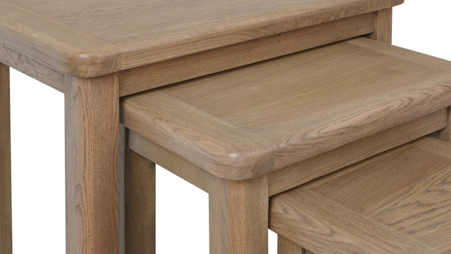 Ryedale Nest of 3 Tables