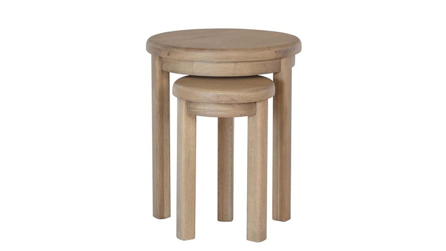 Ryedale Round Nest of Tables