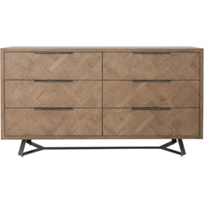 Santa Fe 6 Drawer Chest