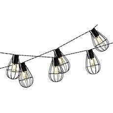 Iron Cage Solar String Lights