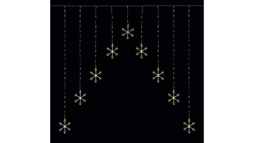 LED Pinwire Snowflake Lights