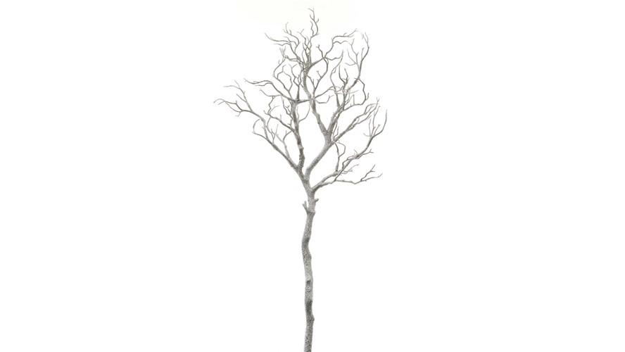 Metallic Silver Twig