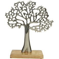 Silver Tree on Stand