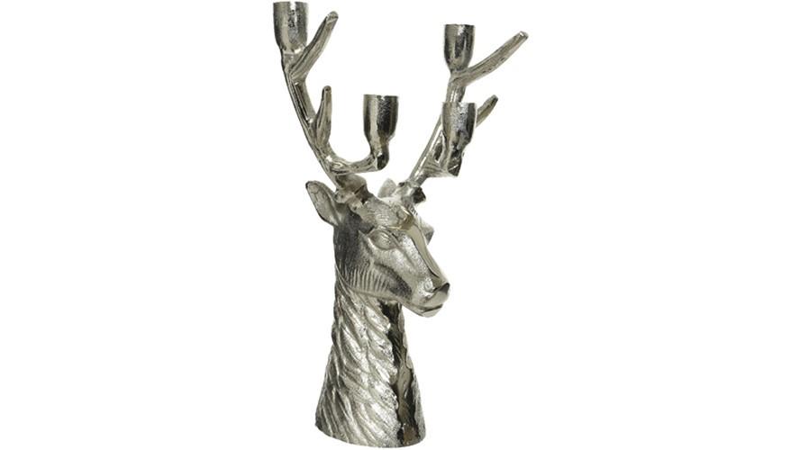 Deer Head Candle Holder
