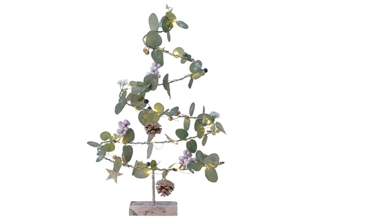 LED Eucalyptus Christmas Tree