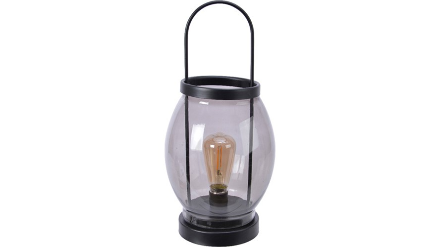 LED Glass Lantern