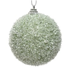 Foam Bauble with Tinsel