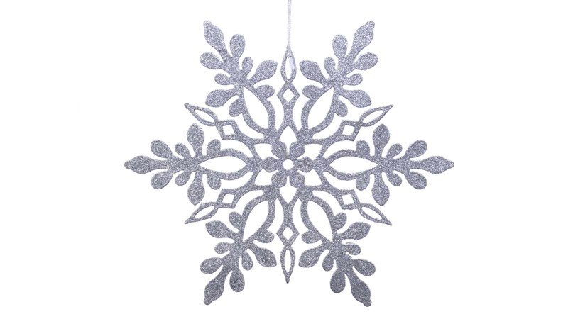 Snowflake Bauble - Silver