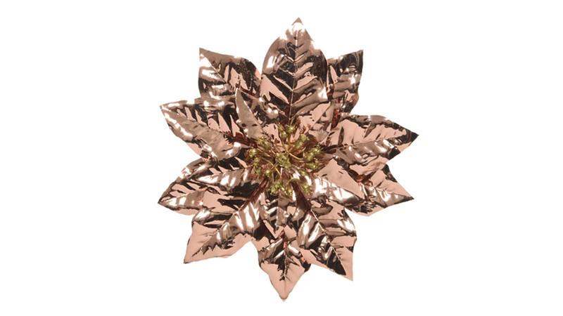 Poinsettia Clip