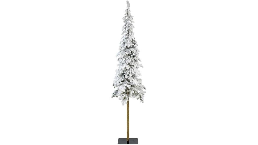 Snowy Alpine Christmas Tree