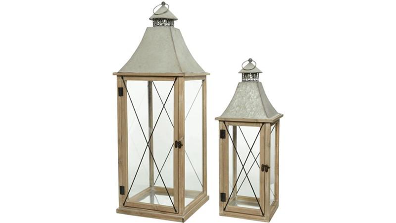 Firwood Lantern - Natural