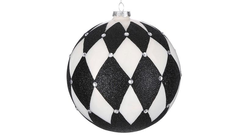 White Ball Ornament