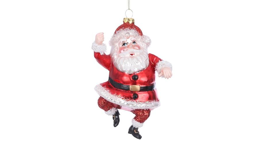 Santa Red Ornament