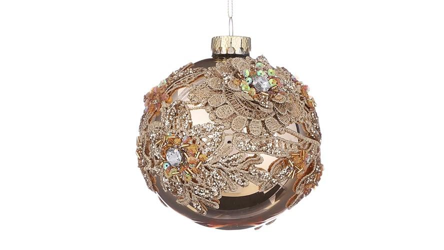 Gold Ball Ornament