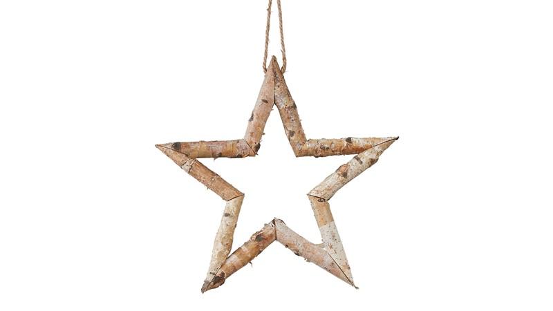 Hanging Star Brown