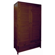 Ercol Bosco Dark 2 Door Wardrobe